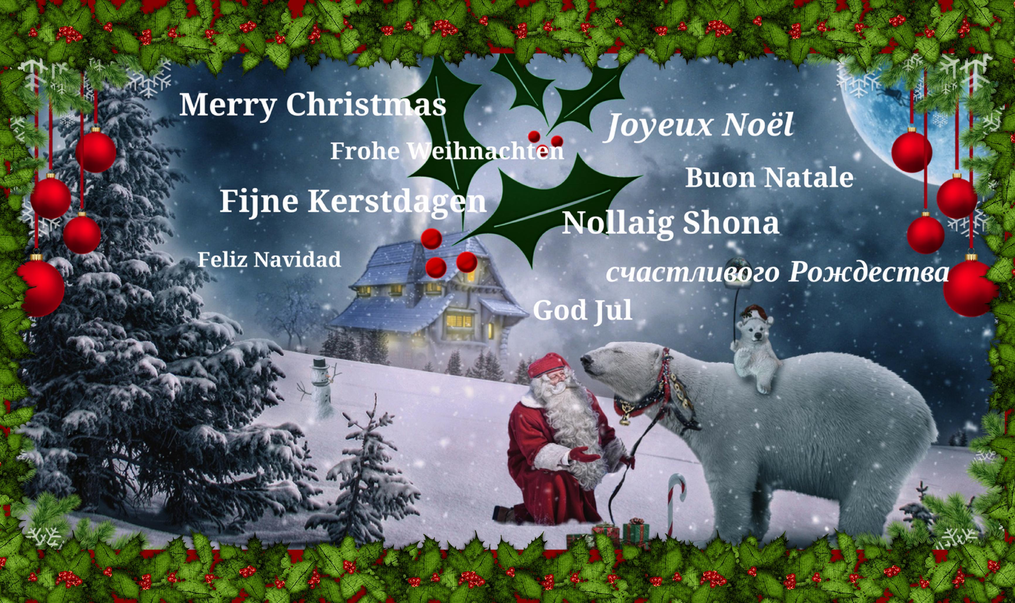 Merry Christmas - Blog Post Image