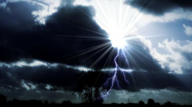 Thunderstorm - Poem Image
